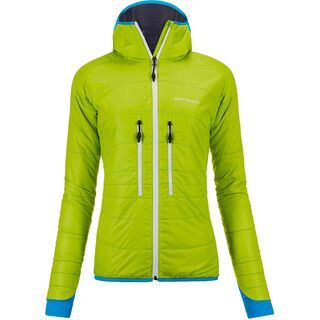 Ortovox Swisswool Light Tec Jacket Lavarella, happy green - Thermojacke