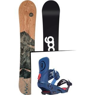 Set: goodboards Wooden 2017 + Ride LTD (1770153S)