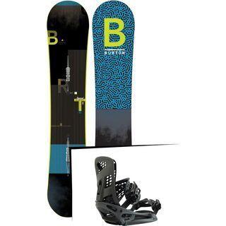 Set: Burton Ripcord Wide 2019 + Burton Genesis X EST black matte