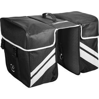 Cube RFR Gepäckträgertaschen Double black