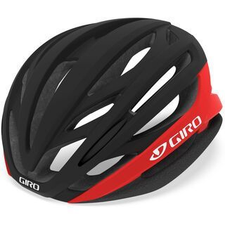 Giro Syntax, matte black/bright red - Fahrradhelm