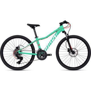 Ghost Lanao D4.4 AL 2018, jade/white/neon red - Kinderfahrrad
