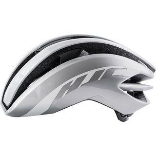 HJC Ibex, gloss white / silver - Fahrradhelm