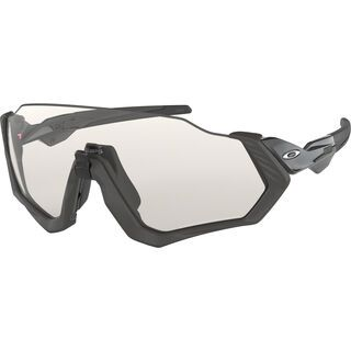 Oakley Flight Jacket Photochromic, grey ink/Lens: clear black iridium - Sportbrille