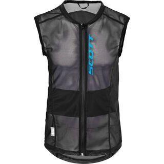 Scott Soft Actifit Light Mens Vest Protector, Black/Blue - Protektorenweste