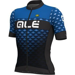 Ale Hexa Jersey, black-blue - Radtrikot