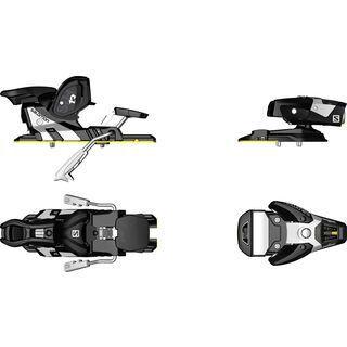 Salomon STH2 WTR 13 90 mm, black/white - Skibindung