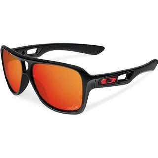 Oakley Dispatch II Nicky Hayden, Matte Black/Ruby Iridium - Sonnenbrille