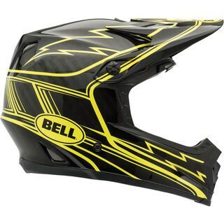 Bell Full-9, black/yellow hurricane - Fahrradhelm