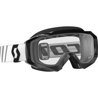 Scott Goggle Hustle MX Enduro, black/Lens: clear - MX Brille