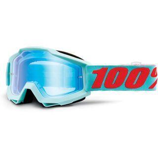 100% Accuri inkl. WS, maldives/Lens: mirror blue - MX Brille