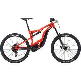 Cannondale Moterra LT 2 2019, acid red - E-Bike
