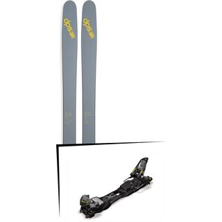 DPS Skis Set: Wailer 112 RPC Pure3 2016 + Marker F12 Tour EPF