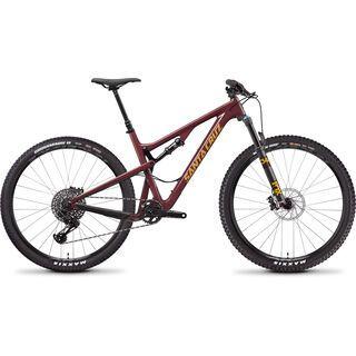 Santa Cruz Tallboy C S 2019, oxblood/tan - Mountainbike