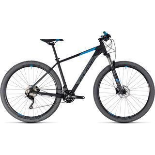 Cube Attention 27.5 2018, black´n´blue - Mountainbike