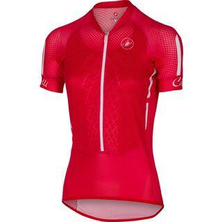 Castelli Climbers W Jersey, red/white/black - Radtrikot