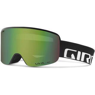 Giro Axis inkl. Wechselscheibe, black wordmark/Lens: vivid emerald - Skibrille