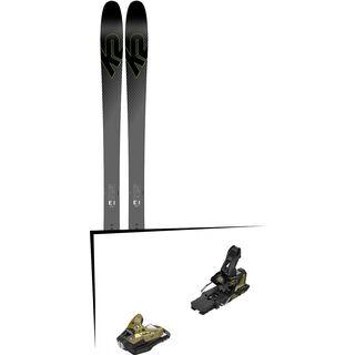 Set: K2 SKI Pinnacle 95Ti 2019 + Salomon STH2 WTR 16 gold/black