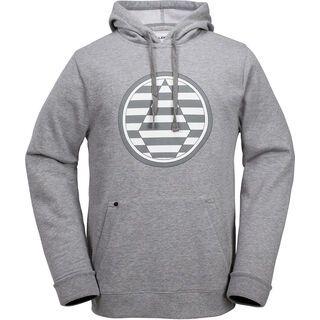 Volcom Striped Stone Fleece, heather grey - Hoody