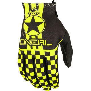 ONeal Matrix Kids Glove Wingman, black/neon yellow - Fahrradhandschuhe
