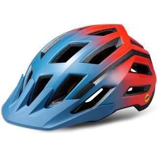 Specialized Tactic III MIPS (ANGi komp.), gloss grey/red - Fahrradhelm