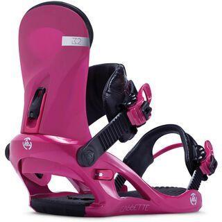 K2 Cassette 2014, pink - Snowboardbindung