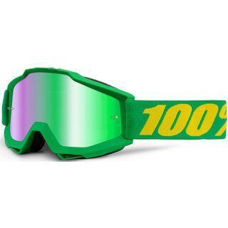 100% Accuri inkl. Wechselscheibe, forrest/Lens: mirror green - MX Brille