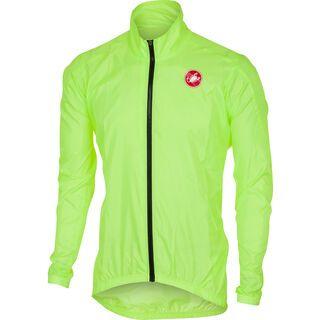 Castelli Squadra ER Jacket yellow fluo