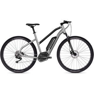 Ghost Hybride Square Cross B2.9 W AL 2019, silver/black - E-Bike