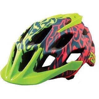 Fox Flux Cauz Helmet, grey - Fahrradhelm