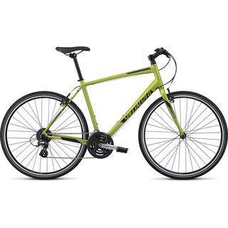 Specialized Sirrus 2017, lime/titanium/oak green - Fitnessbike