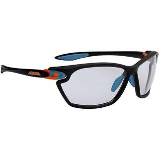 Alpina Twist Four 2.0 VL+, black matt-cyan-orange/Varioflex black - Sportbrille