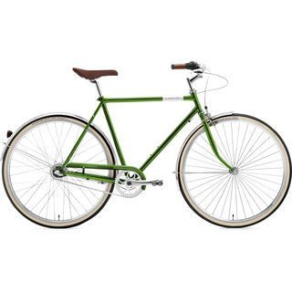 Creme Cycles Caferacer Man Uno 2016, dark green - Cityrad