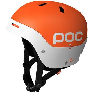 POC Frontal, Orange/White - Skihelm