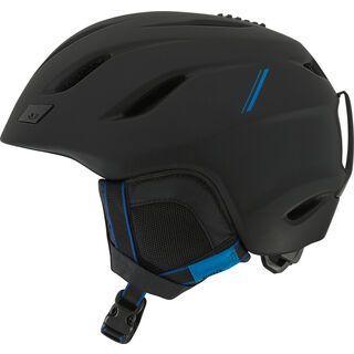 Giro Nine, matte black/blue sport tech - Skihelm