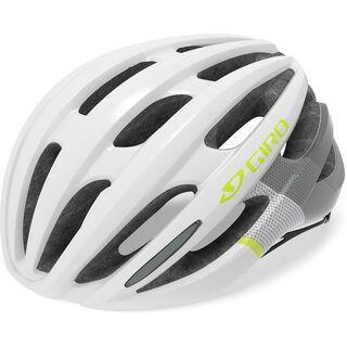 Giro Saga, matte white/citron - Fahrradhelm