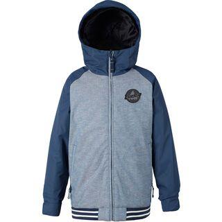 Burton Boys Gameday Jacket, denim chambray/mood indigo - Snowboardjacke