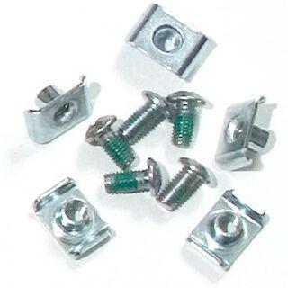Ortlieb QL1 Schraubensatz für 4 und 5-Loch Halterungen (E10)