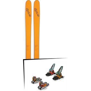 DPS Skis Set: Wailer 99 Pure3 2016 + Marker Jester 18 PRO