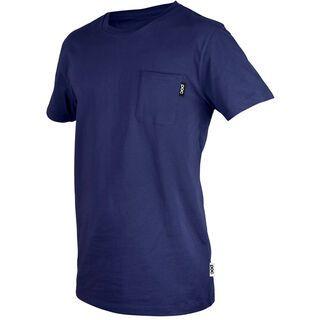 POC Pocket Tee, dubnium blue - T-Shirt