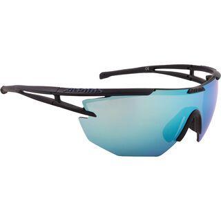 Alpina Eye-5 Shield CM+, black matt/Lens: ceramic mirror emerald - Sportbrille