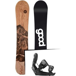 Set: goodboards Wooden 2017 + Flow Five (1718381S)