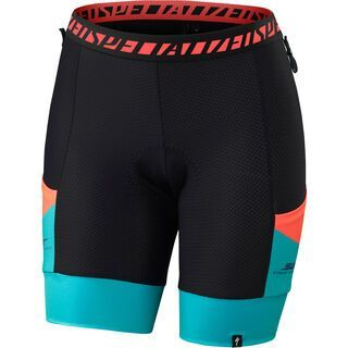 Specialized Women's Mountain Liner Shorts with SWAT, neon coral - Innenhose