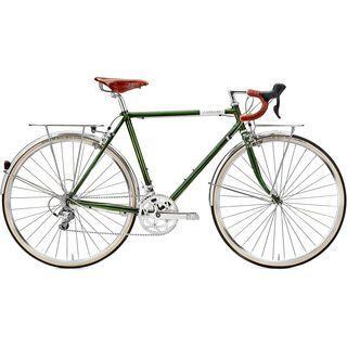 Creme Cycles Lungo 2015, dark green - Trekkingrad
