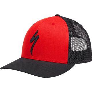 Specialized Flexfit Trucker Hat, red/black - Cap