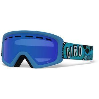 Giro Rev, blue tagazoo/Lens: grey cobalt - Skibrille