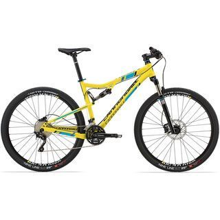 Cannondale Rush 29 1 2014, gelb - Mountainbike