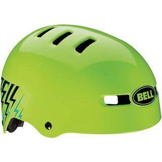 Bell Fraction, glow green shocksteady - Fahrradhelm