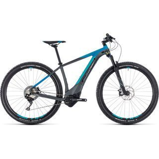 Cube Reaction Hybrid SL 500 27.5 2018, iridium´n´blue - E-Bike