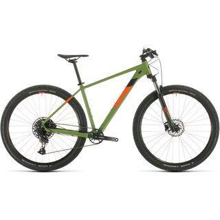 Cube Analog 29 2020, green´n´orange - Mountainbike